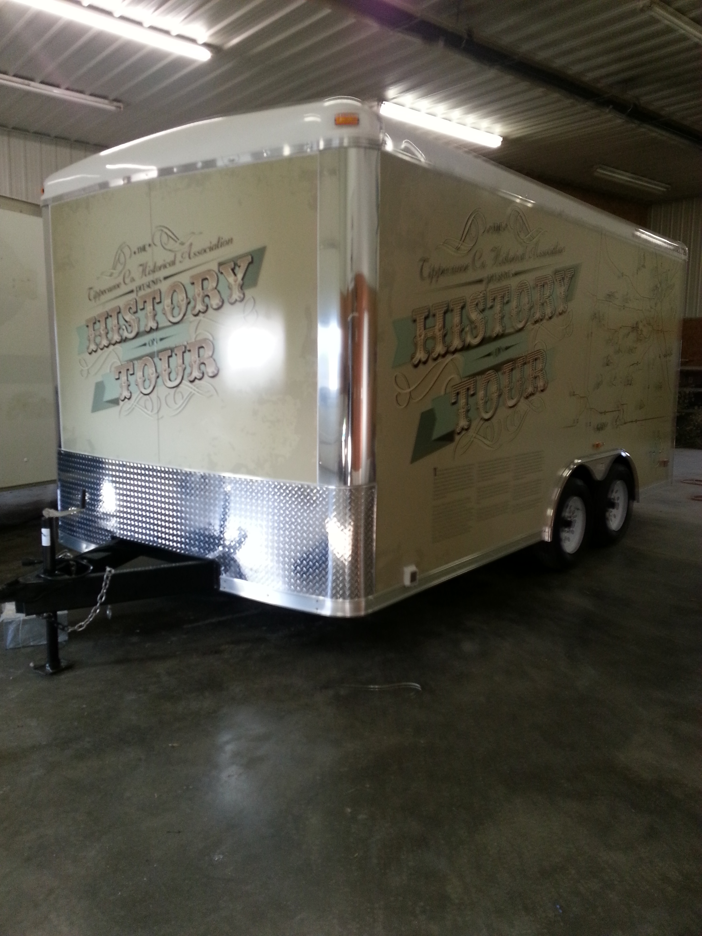 Enclosed Trailer Wraps Starocket Media
