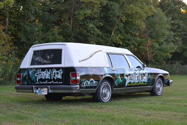 Haunted Forest Vehicle Wrap
